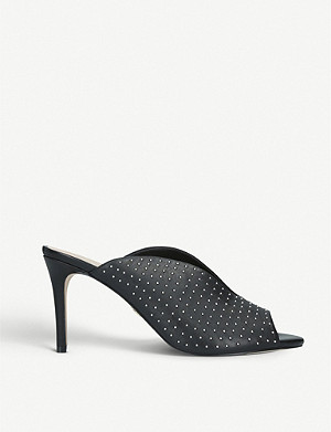 KURT GEIGER LONDON布罗德威克皮革镶嵌的木耳