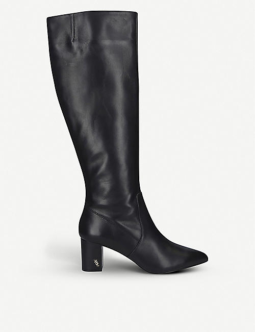 KURT GEIGER LONDON: BURLINGTON KNEE BOOT