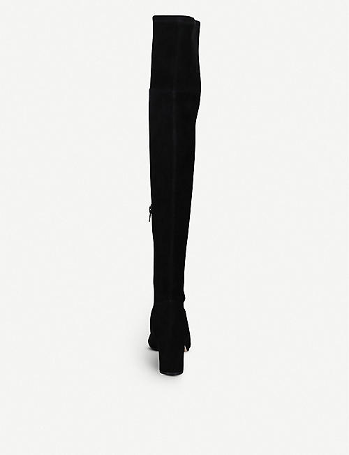 KURT GEIGER LONDON Burlington suede over-the-knee boots