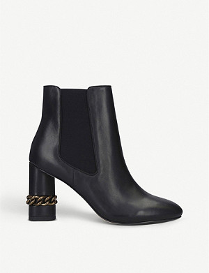 KURT GEIGER LONDON Raquel leather ankle boots