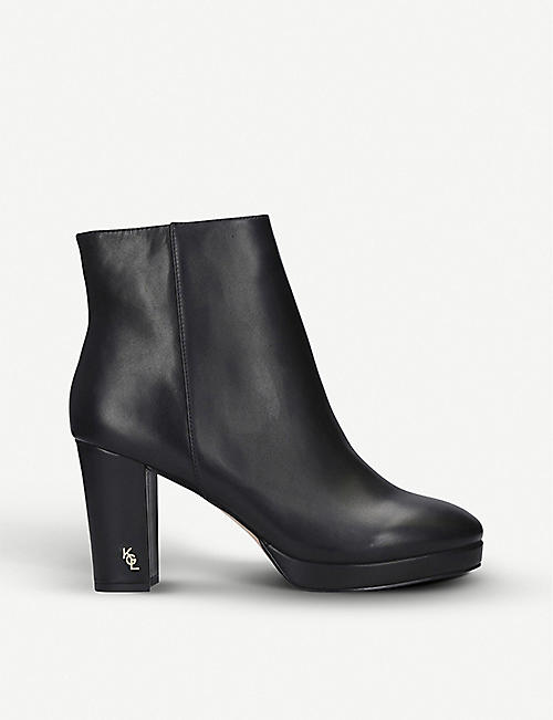 KURT GEIGER LONDON Rome leather ankle boots