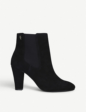 KURT GEIGER LONDON Ronnie suede ankle boots