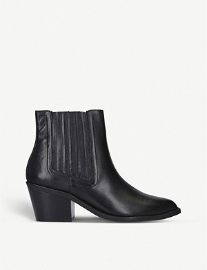 KURT GEIGER LONDON Sylvie leather Chelsea boots