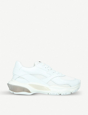 VALENTINO Bounce low-top chunky leather trainers