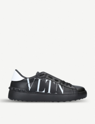 VALENTINO VLTN low-top leather trainers