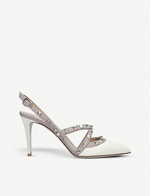 d248c3f612f1 VALENTINO Rockstud 85 leather sandals