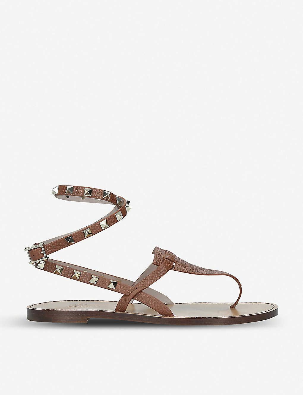 Rockstand Valentino Ankle Leather Sandals Strap J3KTl1uFc