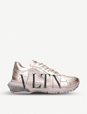 VALENTINO Bounce low-top leather trainers