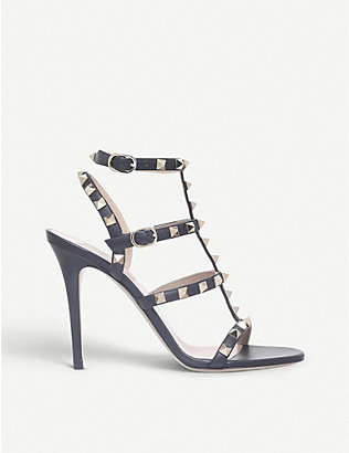 VALENTINO: Rockstud 105 studded leather sandals