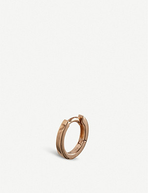 REPOSSI 18-ct rose gold hoop earring