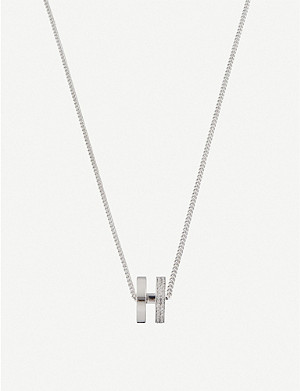 REPOSSI Berbere diamond-paved gold necklace