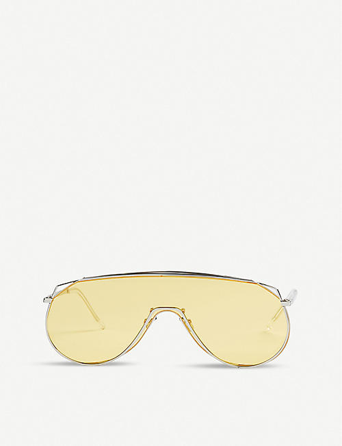 GENTLE MONSTER: Afix stainless steel sunglasses