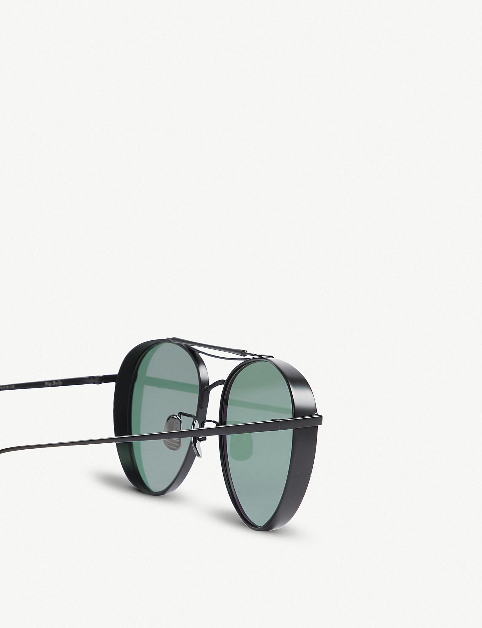 a0dde7d3b4a4 GENTLE MONSTER - Big Bully titanium sunglasses