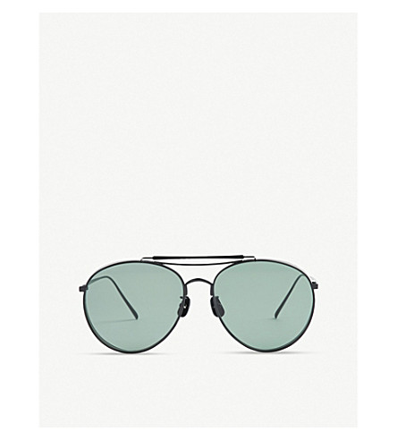 3b2d8c8fec ... GENTLE MONSTER Big Bully titanium sunglasses (Black. PreviousNext