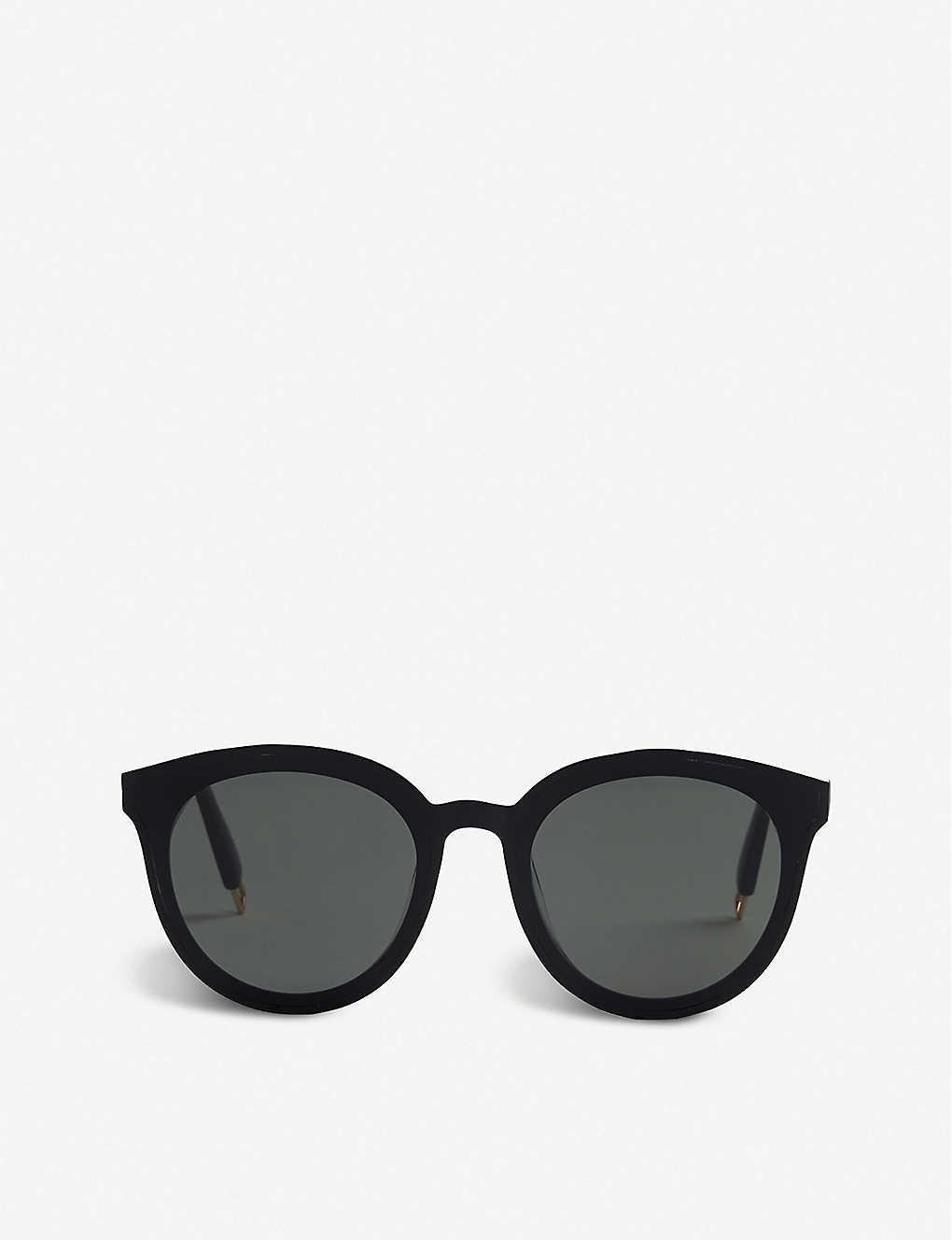 28be3d3274 GENTLE MONSTER - Black Peter acetate sunglasses