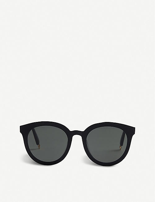 GENTLE MONSTER: Black Peter 01 acetate round-frame sunglasses