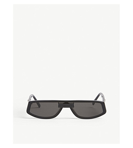 Gentle Monster COLD C1 RECTANGLE-FRAME ACETATE SUNGLASSES
