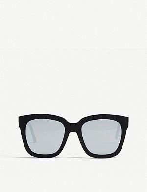 45250371c8 GENTLE MONSTER Dreamer Hoff mirrored acetate sunglasses