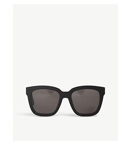 f40ba29f21 ... GENTLE MONSTER Dreamer Hoff mirrored acetate sunglasses (Black.  PreviousNext