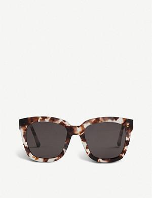 ec06a3ec120e4 GENTLE MONSTER - Dreamer Hoff mirrored acetate sunglasses ...