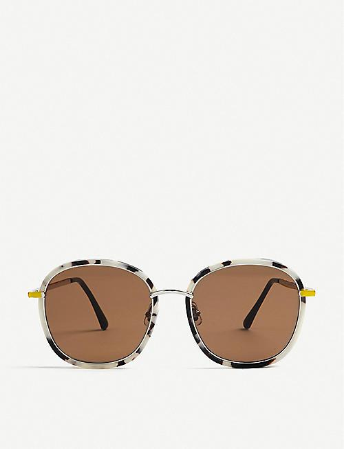 31b0625542ab GENTLE MONSTER Mad Crush square-frame sunglasses