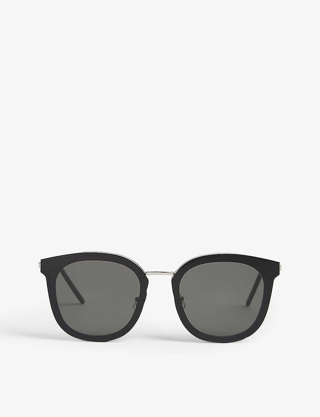 GENTLE MONSTER: Mamabu01 rectangle-frame sunglasses