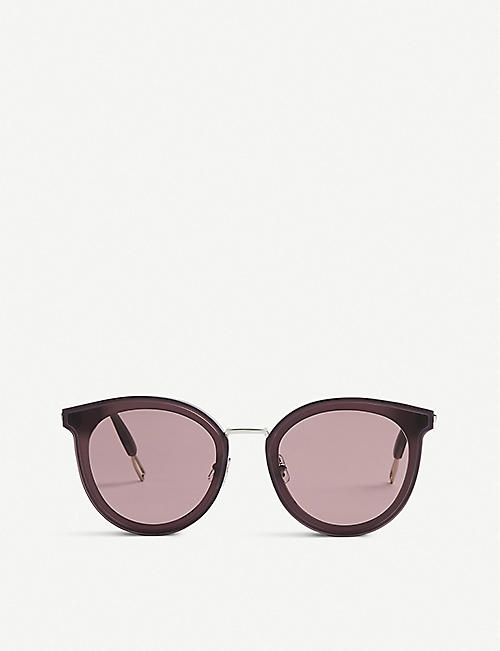 9a0f73a67a GENTLE MONSTER Merlynn WC1 tinted round-frame sunglasses
