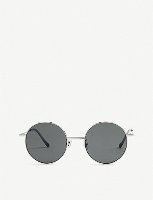 GENTLE MONSTER Midnight Sun tinted round-frame sunglasses