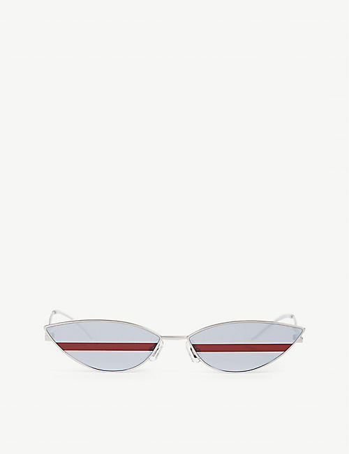 GENTLE MONSTER: POXI-02(1M) Poxi stainless steel sunglasses