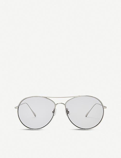 5776367f37 GENTLE MONSTER Ranny Ring monel and titanium sunglasses