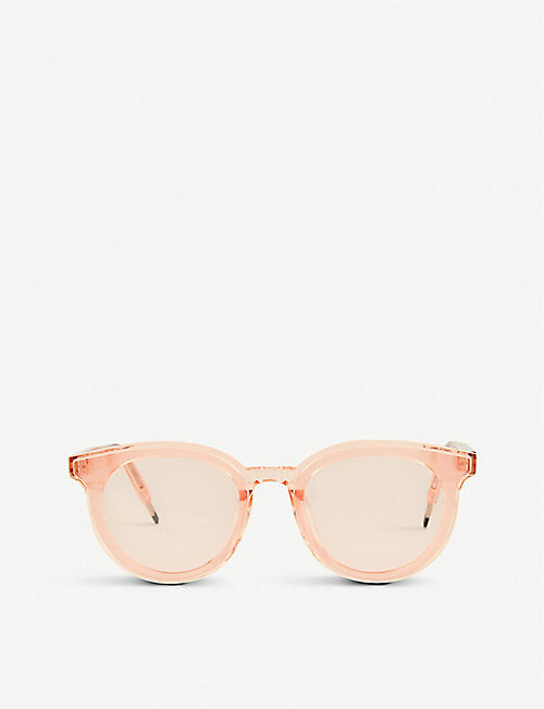 GENTLE MONSTER: SEESAW-WC1 Seesaw acetate sunglasses