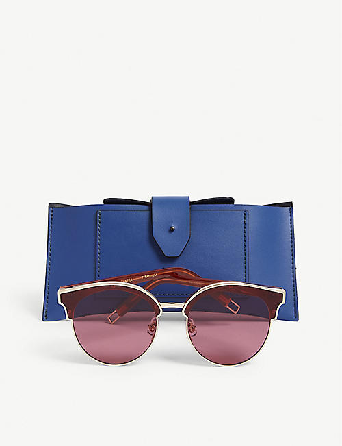 GENTLE MONSTER Signoftwo cat eye-frame sunglasses