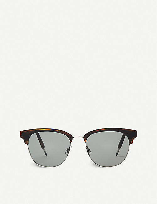 GENTLE MONSTER: Till Dawn acetate and stainless steel sunglasses
