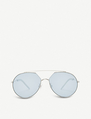 GENTLE MONSTER Z-1 stainless steel, monel and acetate sunglasses