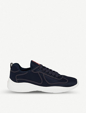 PRADA Bike Fabric nylon trainers