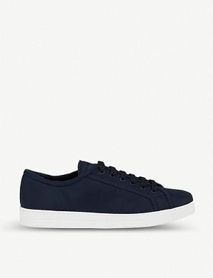 PRADA Low-top nylon trainers