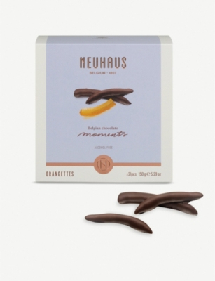 NEUHAUS Chocolate moments dark chocolate orangettes