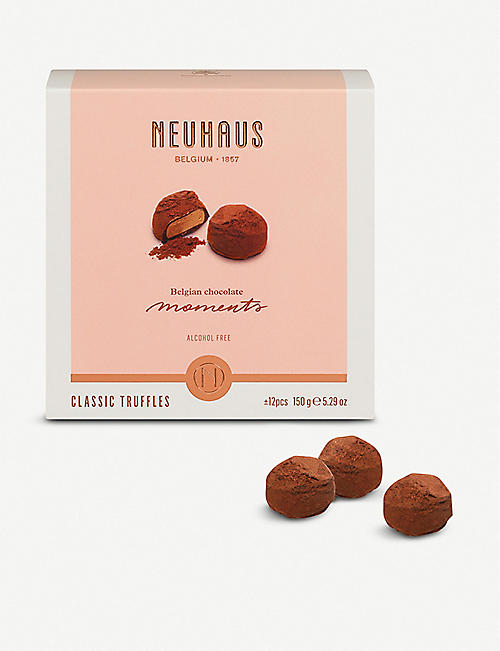 NEUHAUS Belgian Chocolate Moments: classic truffles 150g
