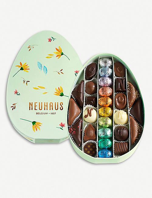 a1839e5c88e0 SELFRIDGES SELECTION · Artisan milk chocolate Easter egg 200g. £29.99.  NEUHAUS Easter assorted chocolates box of 28