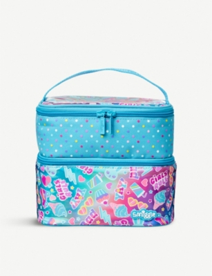 SMIGGLE Stylin' Dual Square lunch box