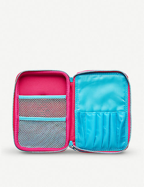 SMIGGLE Stylin' Double Up hard top pencil case