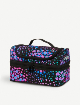 SMIGGLE Woah floral-print double-decker lunch box 24.5cm