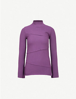 PINKO: Runner wool-blend jumper