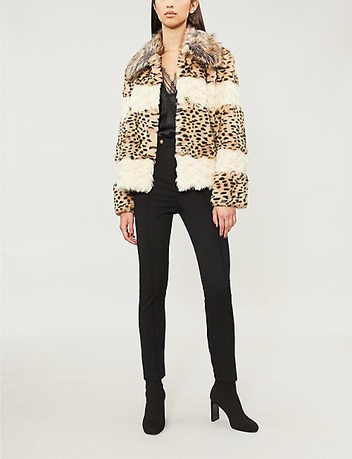 7ad4df2854e2 Faux fur & shearling - Coats - Coats & jackets - Clothing - Womens ...