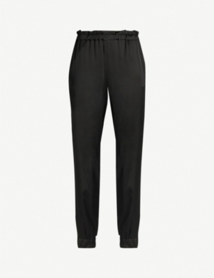 PINKO Anarchino high-rise crepe trousers