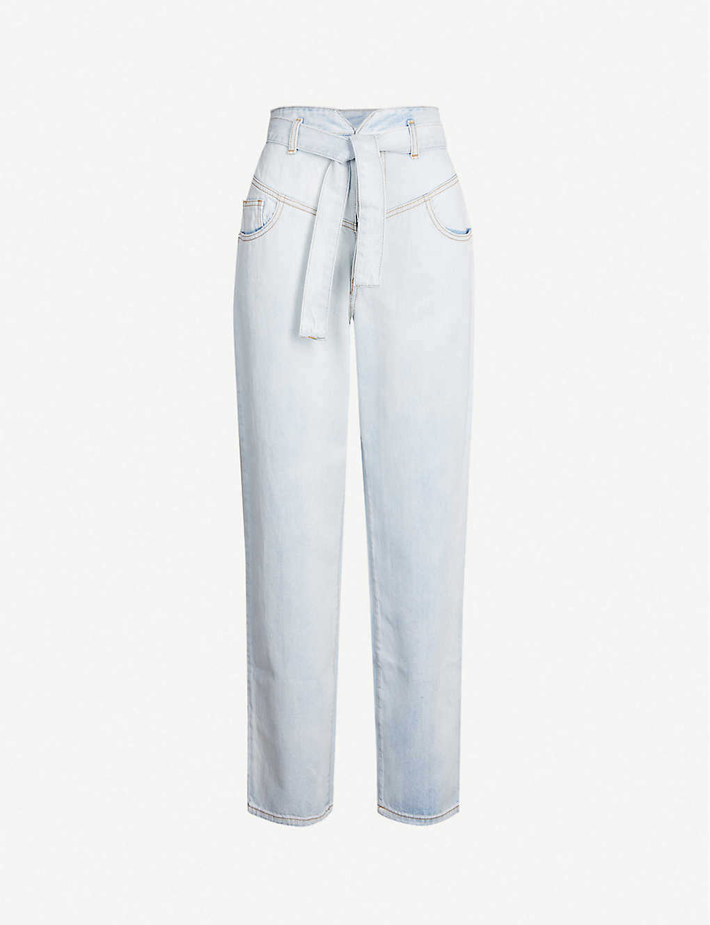 promo code 01472 7ba99 Carol faded tapered high-rise jeans