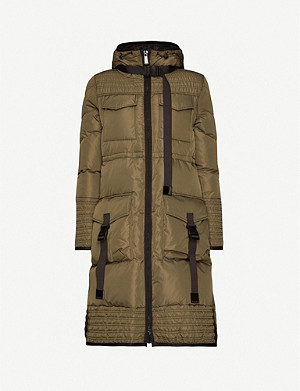 PINKO Sciroppo padded and quilted shell jacket