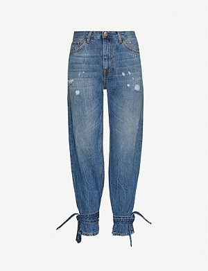 PINKO Maddie 5 high-rise straight jeans