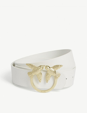 PINKO Lunia 2 leather belt