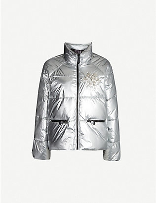 PINKO: Tourcoing quilted shell jacket